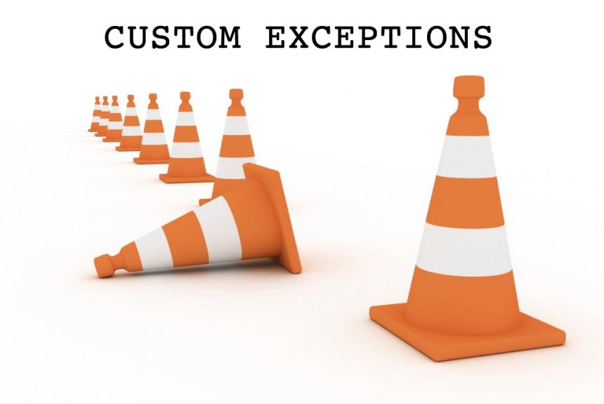 Java – Custom Light Exceptions